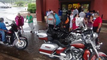 Dream Ride Stop, benefits Special Olympics, Hampton Inn, Hazleton, 8-20-2015 (222)
