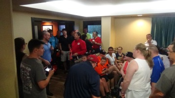 Dream Ride Stop, benefits Special Olympics, Hampton Inn, Hazleton, 8-20-2015 (230)