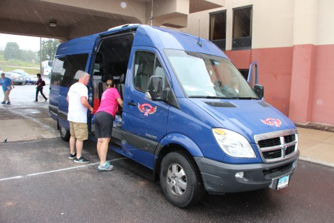 Dream Ride Stop, benefits Special Olympics, Hampton Inn, Hazleton, 8-20-2015 (25)
