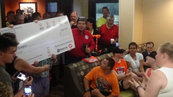 Dream Ride Stop, benefits Special Olympics, Hampton Inn, Hazleton, 8-20-2015 (268)