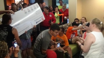 Dream Ride Stop, benefits Special Olympics, Hampton Inn, Hazleton, 8-20-2015 (269)