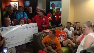 Dream Ride Stop, benefits Special Olympics, Hampton Inn, Hazleton, 8-20-2015 (272)
