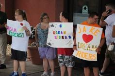 Dream Ride Stop, benefits Special Olympics, Hampton Inn, Hazleton, 8-20-2015 (28)