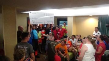 Dream Ride Stop, benefits Special Olympics, Hampton Inn, Hazleton, 8-20-2015 (280)
