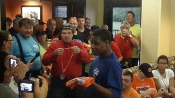 Dream Ride Stop, benefits Special Olympics, Hampton Inn, Hazleton, 8-20-2015 (283)