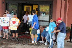 Dream Ride Stop, benefits Special Olympics, Hampton Inn, Hazleton, 8-20-2015 (29)