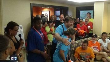 Dream Ride Stop, benefits Special Olympics, Hampton Inn, Hazleton, 8-20-2015 (292)