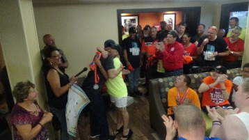Dream Ride Stop, benefits Special Olympics, Hampton Inn, Hazleton, 8-20-2015 (305)