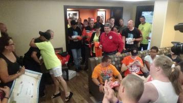 Dream Ride Stop, benefits Special Olympics, Hampton Inn, Hazleton, 8-20-2015 (310)