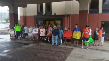 Dream Ride Stop, benefits Special Olympics, Hampton Inn, Hazleton, 8-20-2015 (35)