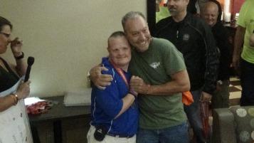 Dream Ride Stop, benefits Special Olympics, Hampton Inn, Hazleton, 8-20-2015 (380)
