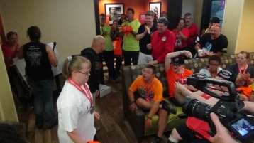 Dream Ride Stop, benefits Special Olympics, Hampton Inn, Hazleton, 8-20-2015 (393)