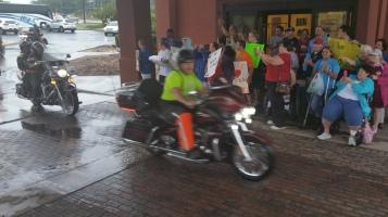 Dream Ride Stop, benefits Special Olympics, Hampton Inn, Hazleton, 8-20-2015 (40)