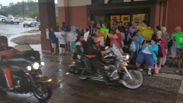 Dream Ride Stop, benefits Special Olympics, Hampton Inn, Hazleton, 8-20-2015 (41)