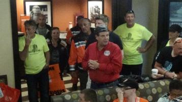 Dream Ride Stop, benefits Special Olympics, Hampton Inn, Hazleton, 8-20-2015 (412)