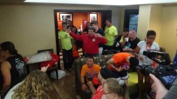 Dream Ride Stop, benefits Special Olympics, Hampton Inn, Hazleton, 8-20-2015 (416)