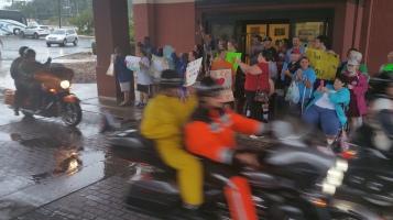 Dream Ride Stop, benefits Special Olympics, Hampton Inn, Hazleton, 8-20-2015 (42)