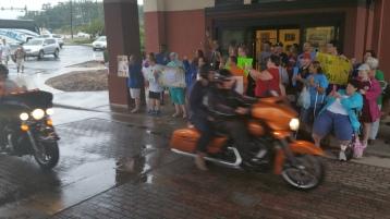 Dream Ride Stop, benefits Special Olympics, Hampton Inn, Hazleton, 8-20-2015 (43)