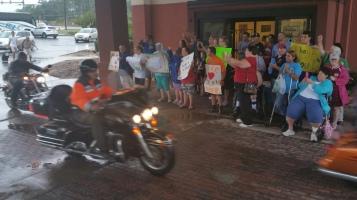 Dream Ride Stop, benefits Special Olympics, Hampton Inn, Hazleton, 8-20-2015 (44)