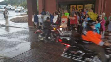 Dream Ride Stop, benefits Special Olympics, Hampton Inn, Hazleton, 8-20-2015 (45)