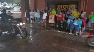Dream Ride Stop, benefits Special Olympics, Hampton Inn, Hazleton, 8-20-2015 (46)