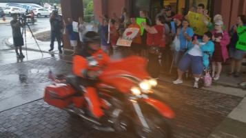 Dream Ride Stop, benefits Special Olympics, Hampton Inn, Hazleton, 8-20-2015 (48)