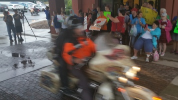 Dream Ride Stop, benefits Special Olympics, Hampton Inn, Hazleton, 8-20-2015 (50)