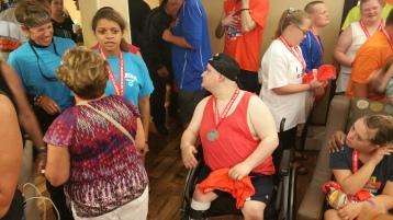 Dream Ride Stop, benefits Special Olympics, Hampton Inn, Hazleton, 8-20-2015 (503)