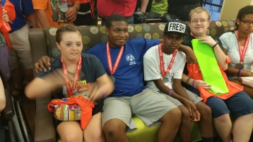 Dream Ride Stop, benefits Special Olympics, Hampton Inn, Hazleton, 8-20-2015 (505)
