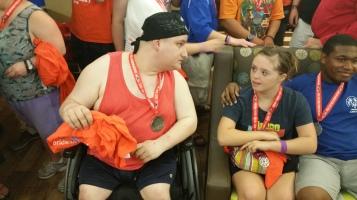 Dream Ride Stop, benefits Special Olympics, Hampton Inn, Hazleton, 8-20-2015 (507)