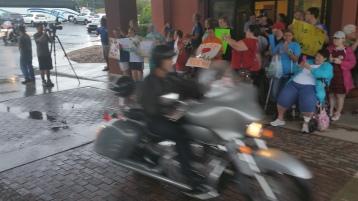 Dream Ride Stop, benefits Special Olympics, Hampton Inn, Hazleton, 8-20-2015 (51)