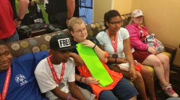Dream Ride Stop, benefits Special Olympics, Hampton Inn, Hazleton, 8-20-2015 (510)