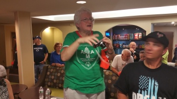 Dream Ride Stop, benefits Special Olympics, Hampton Inn, Hazleton, 8-20-2015 (513)