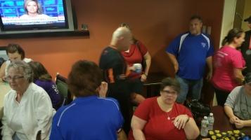 Dream Ride Stop, benefits Special Olympics, Hampton Inn, Hazleton, 8-20-2015 (514)