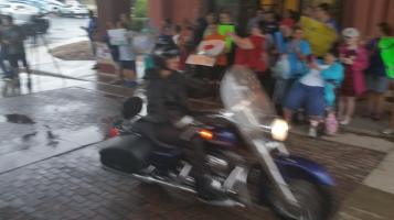 Dream Ride Stop, benefits Special Olympics, Hampton Inn, Hazleton, 8-20-2015 (52)