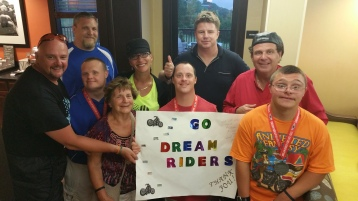 Dream Ride Stop, benefits Special Olympics, Hampton Inn, Hazleton, 8-20-2015 (526)