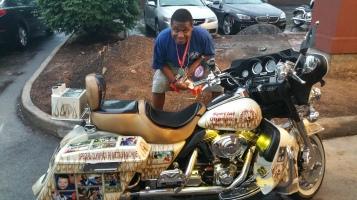 Dream Ride Stop, benefits Special Olympics, Hampton Inn, Hazleton, 8-20-2015 (532)