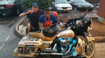 Dream Ride Stop, benefits Special Olympics, Hampton Inn, Hazleton, 8-20-2015 (534)