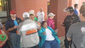 Dream Ride Stop, benefits Special Olympics, Hampton Inn, Hazleton, 8-20-2015 (61)