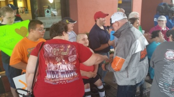Dream Ride Stop, benefits Special Olympics, Hampton Inn, Hazleton, 8-20-2015 (66)