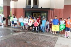 Dream Ride Stop, benefits Special Olympics, Hampton Inn, Hazleton, 8-20-2015 (7)