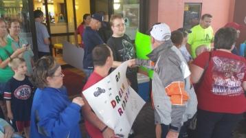 Dream Ride Stop, benefits Special Olympics, Hampton Inn, Hazleton, 8-20-2015 (76)