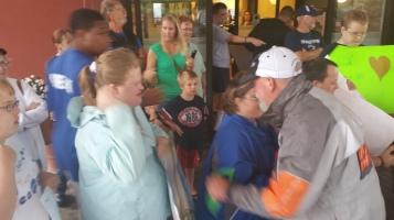 Dream Ride Stop, benefits Special Olympics, Hampton Inn, Hazleton, 8-20-2015 (79)