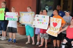 Dream Ride Stop, benefits Special Olympics, Hampton Inn, Hazleton, 8-20-2015 (8)