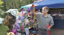 Faerie FanFaire Festival, Fairies, Stonehedge Gardens, South Tamaqua, 8-22-2015 (129)