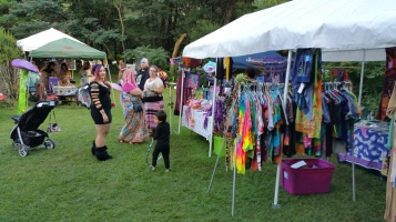 Faerie FanFaire Festival, Fairies, Stonehedge Gardens, South Tamaqua, 8-22-2015 (144)