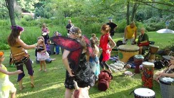 Faerie FanFaire Festival, Fairies, Stonehedge Gardens, South Tamaqua, 8-22-2015 (350)