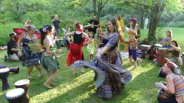 Faerie FanFaire Festival, Fairies, Stonehedge Gardens, South Tamaqua, 8-22-2015 (379)