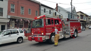 False Alarm, No Fire, No Smoke, West Spruce Street, Tamaqua, 8-30-2015 (3)