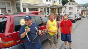 False Alarm, No Fire, No Smoke, West Spruce Street, Tamaqua, 8-30-2015 (5)